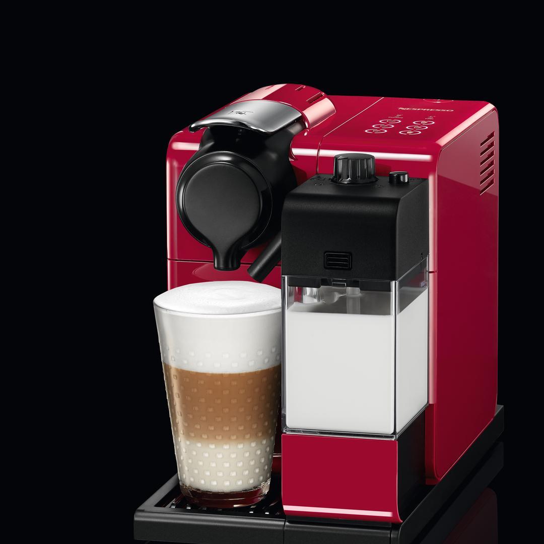 Nespresso F 511 Lattissima Touch Red