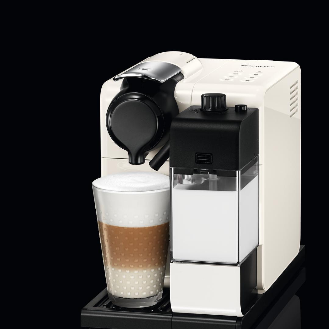 Nespresso F 511 Lattissima Touch White