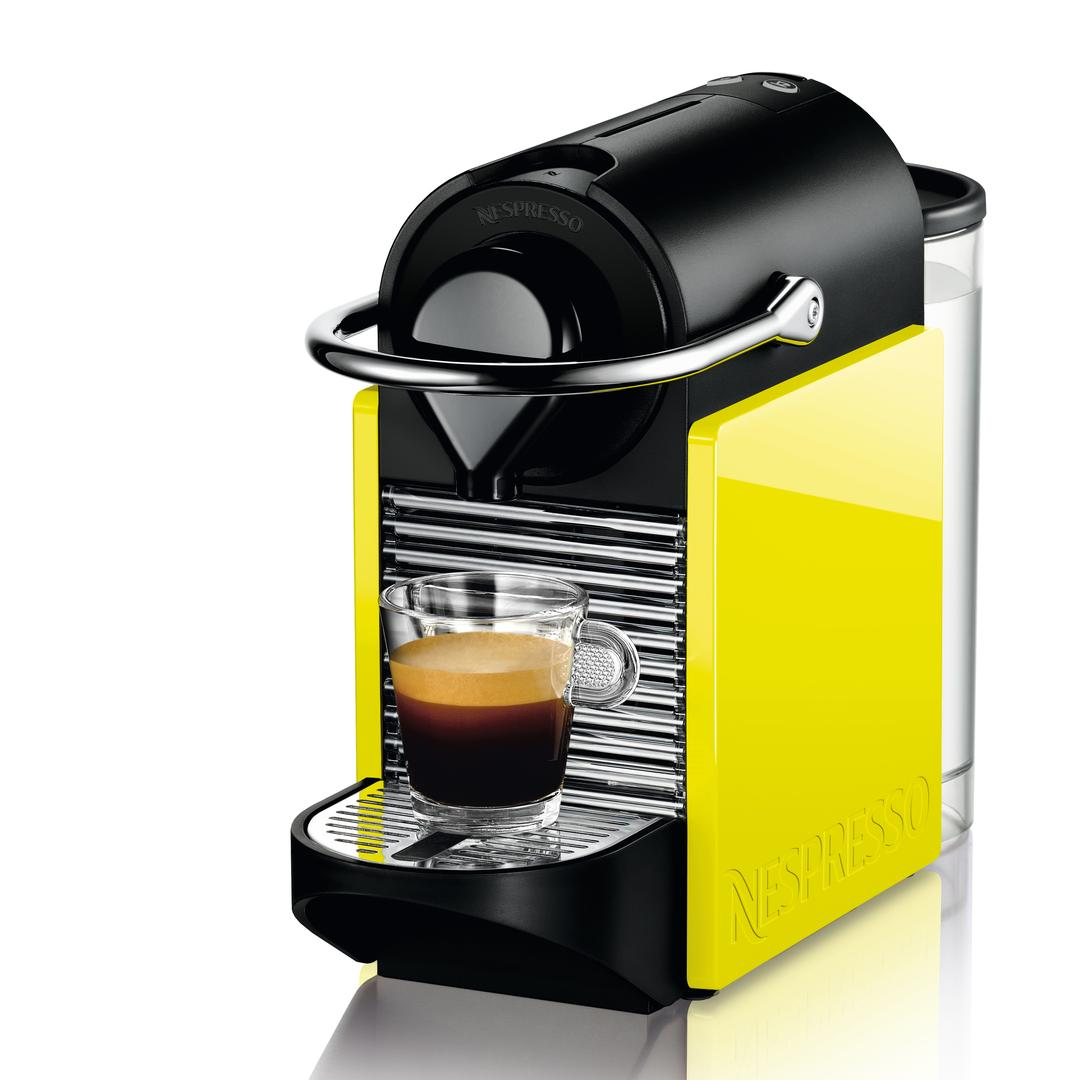 Nespresso Pixie Clips C60c Black Lemon Neon
