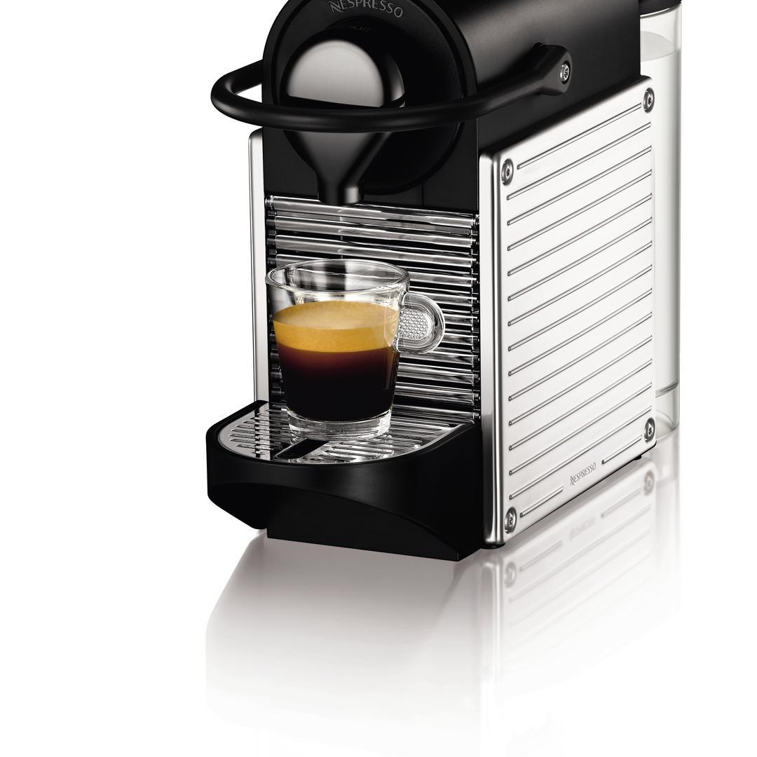 Nespresso Pixie C60 Steel Kahve Makinesi