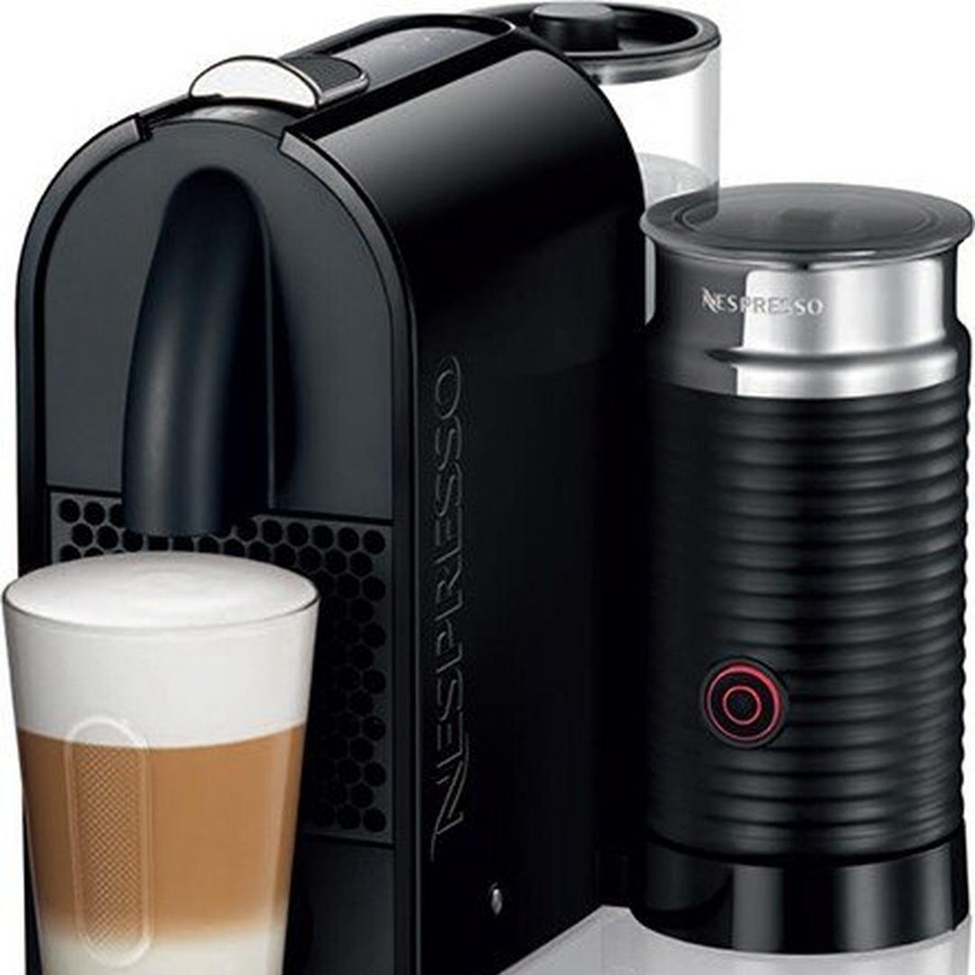 Nespresso U Milk D55 Pure Black