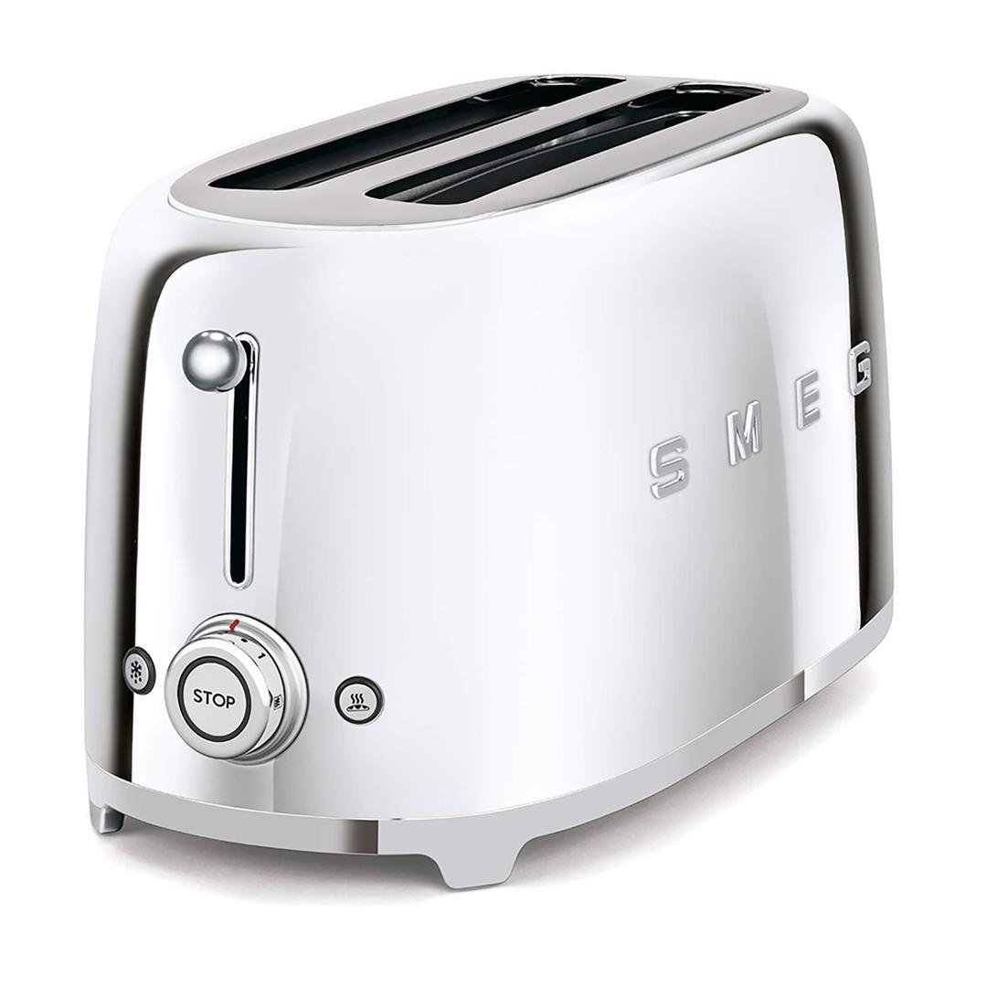 Smeg 2x4 Ekmek Kızartma Silver Tsf02sseu