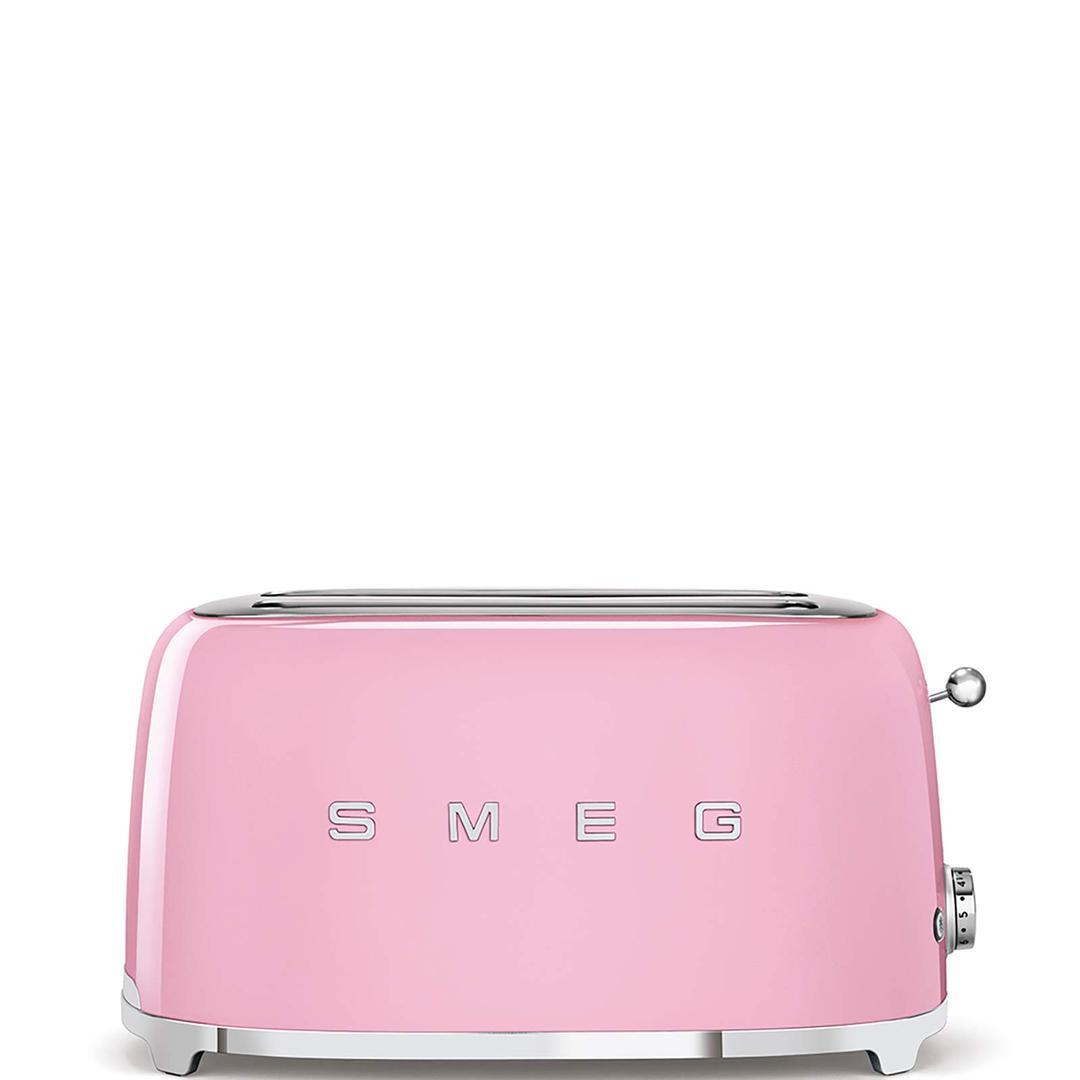 Smeg 2x4 Ekmek Kızartma Pink Tsf02pkeu
