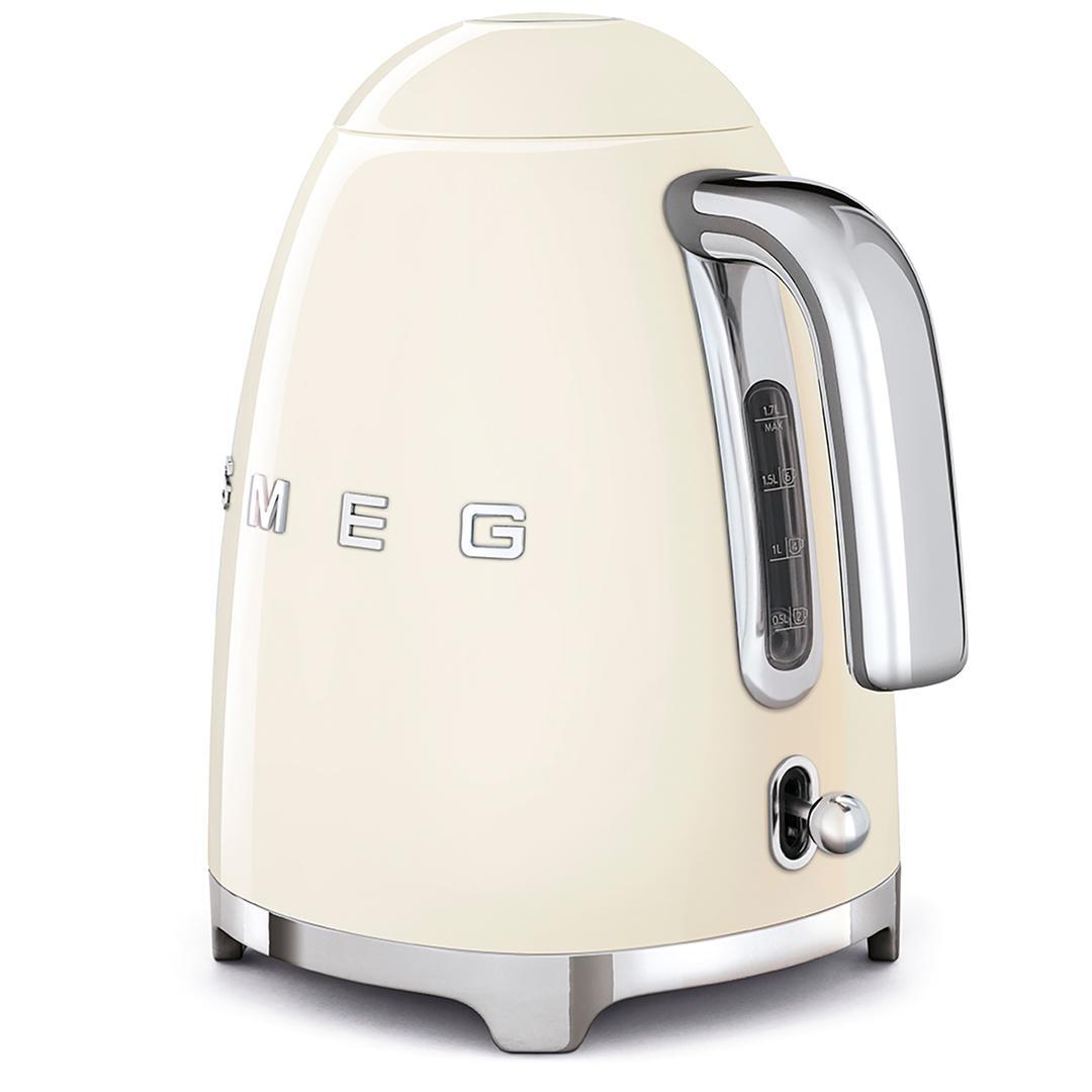 Smeg Kettle- Linea 50's Retro Style- Cream Klf03rdeu