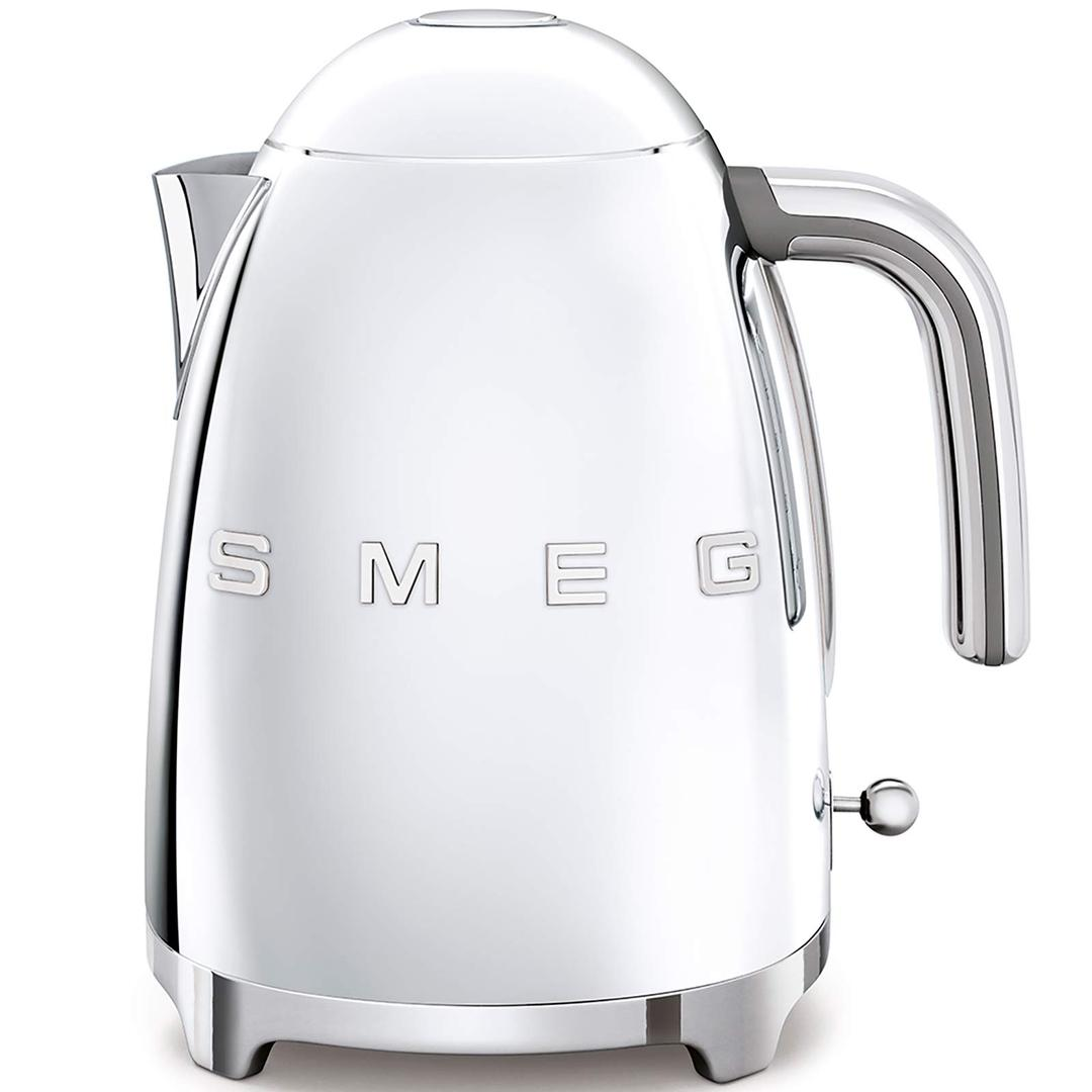 Smeg Kettle- Linea 50's Retro Style- Silver Klf03rdeu