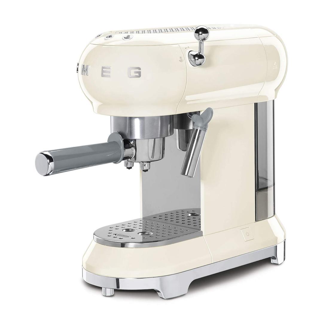 Smeg Espresso Kahve Makinesi Cream Ecf01creu