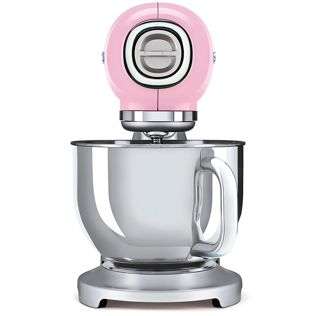 Smeg Hamur Karıştırma Makinesi Pink Smf02pkeu
