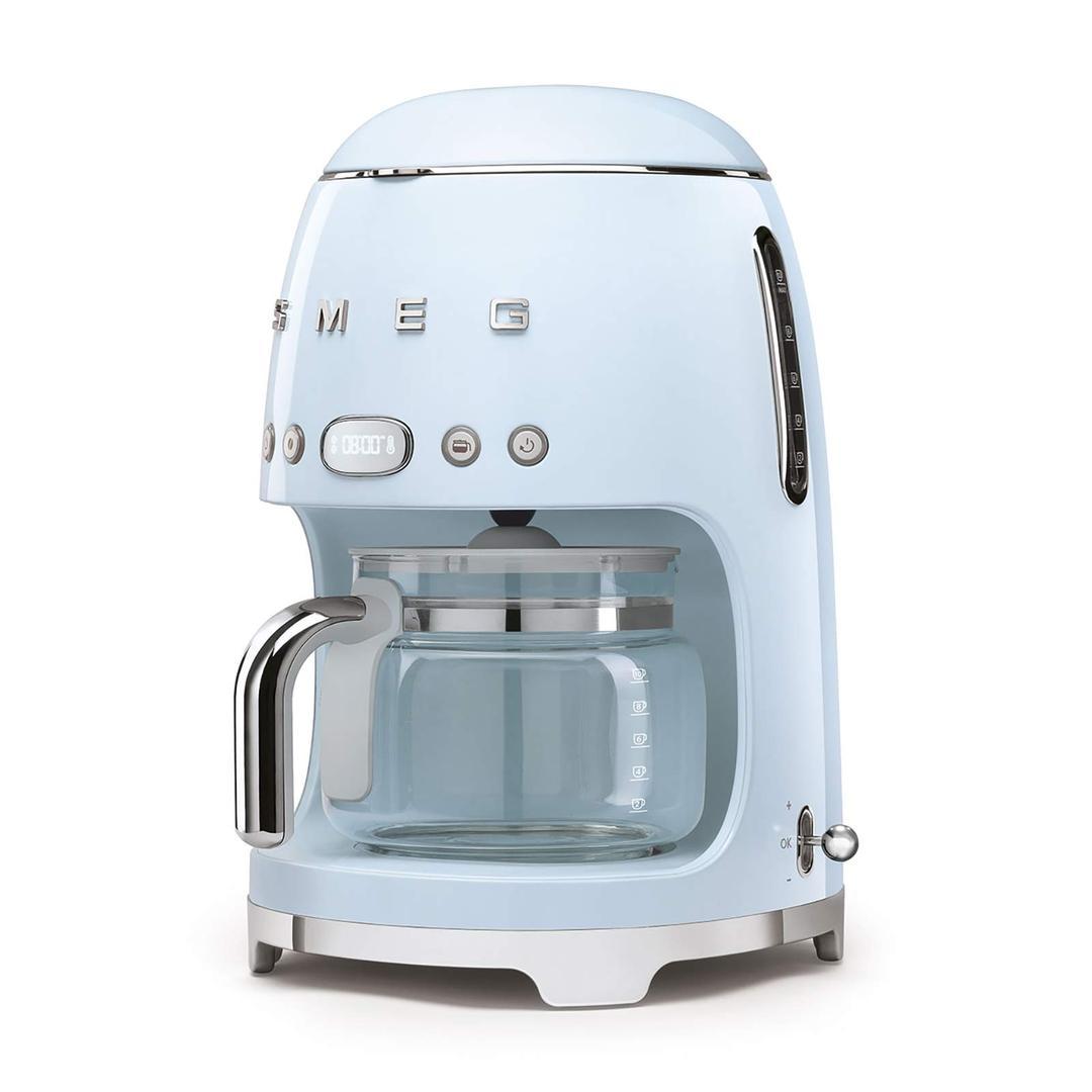 Smeg- Linea 50's Retro Style-Filtre Kahve Makinesi- Blue Dcf02pbeu