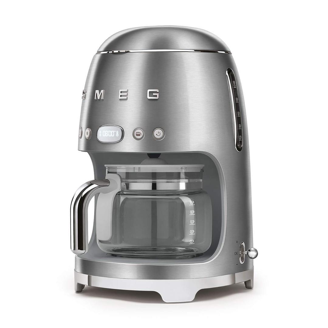Smeg Filtre Kahve Makinesi Silver Dcf02sseu