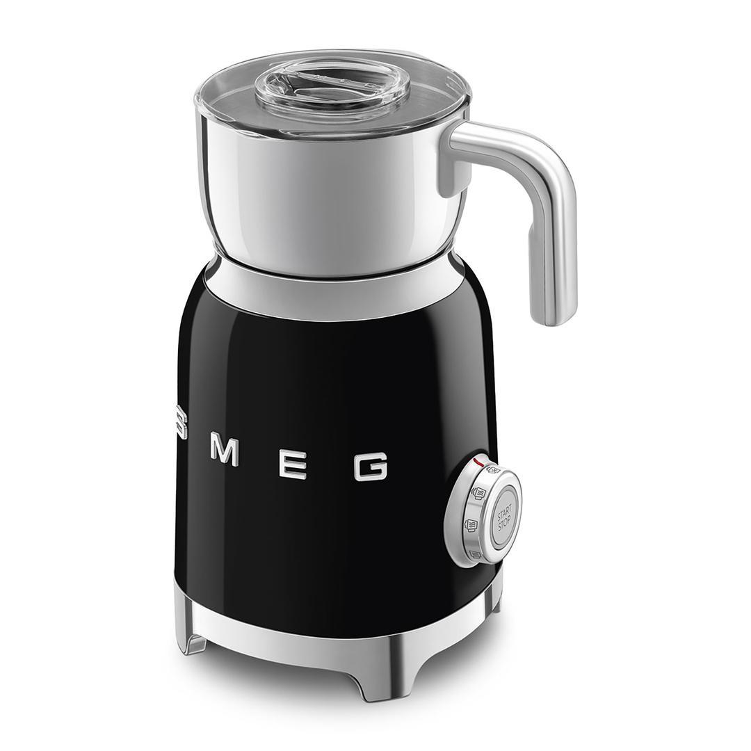 Smeg Süt Köpürtme Makinesı Black Mff01bleu