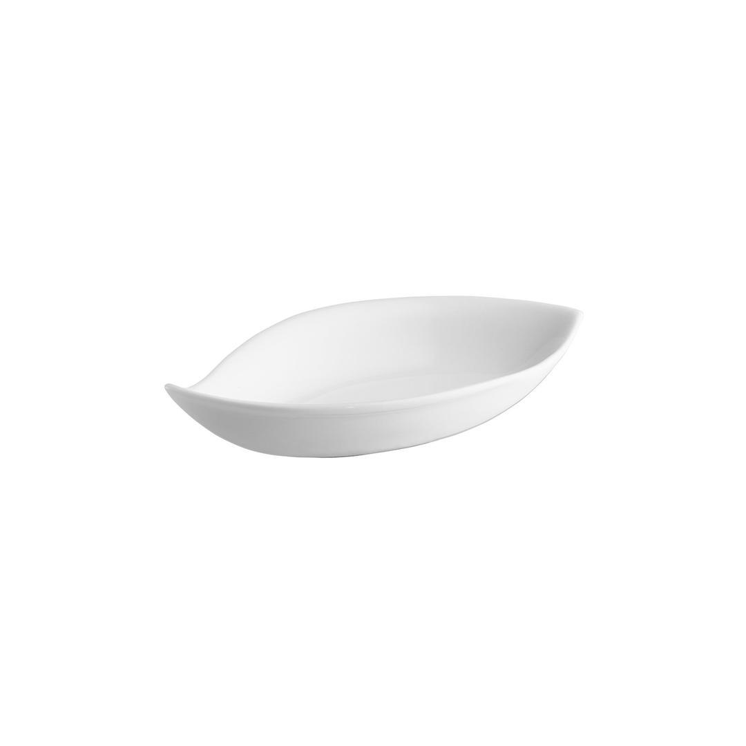 Jumbo Kaizen Yaprak Kase Beyaz 19 cm JHKB3619