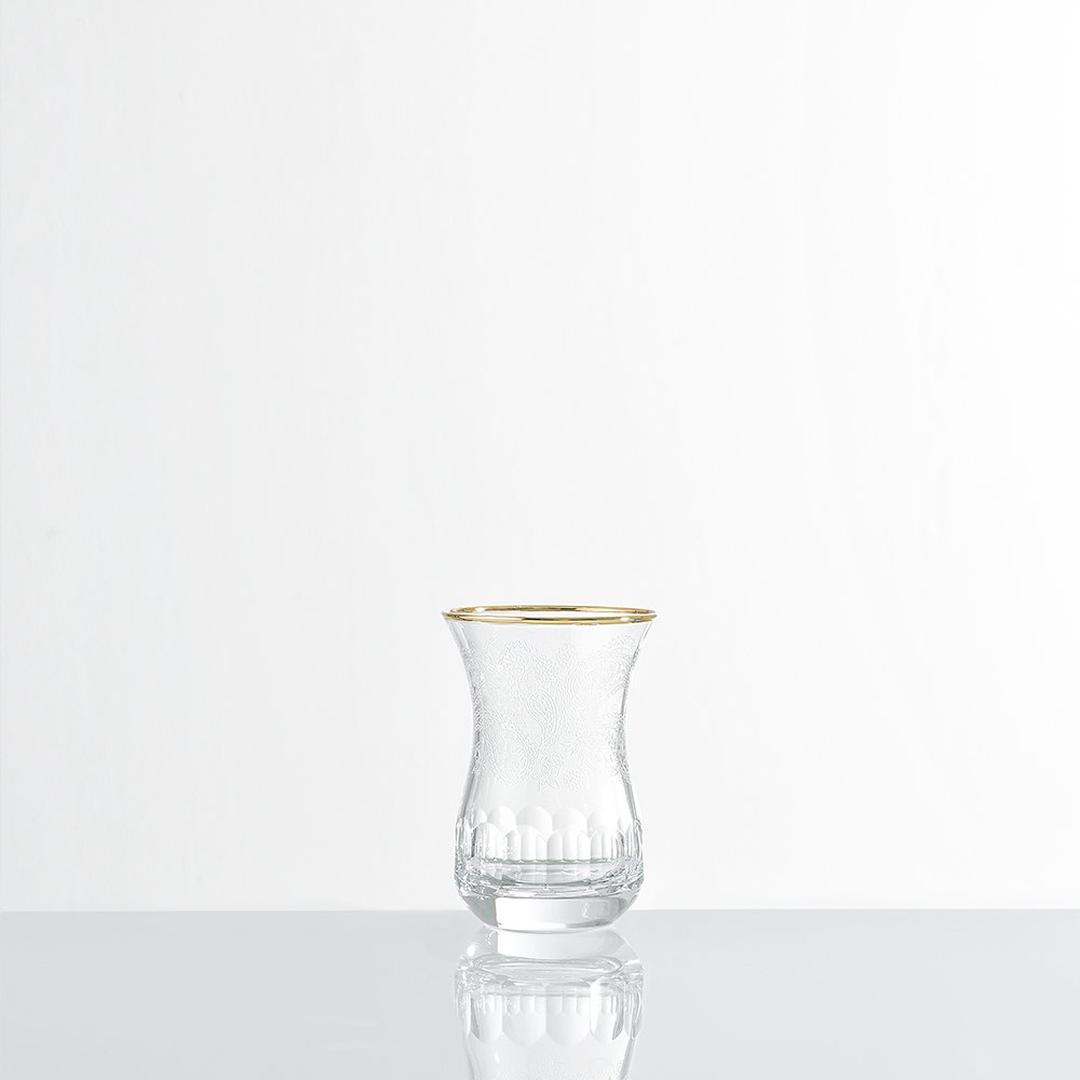 Jumbo Paisley 6'lı Çay Bardağı