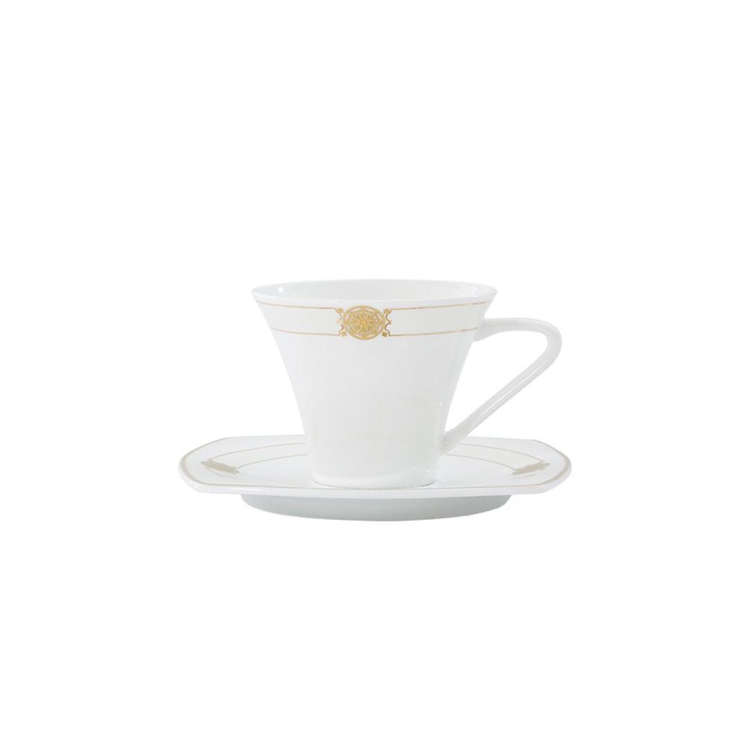 Jumbo Stigma 6 Kişilik 12 Parça Royal Pearl Kahve Fincan Takımı