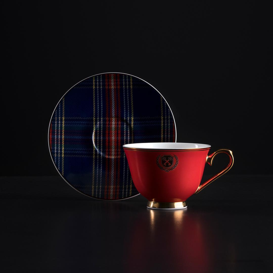 Jumbo Elegance 2'li Kahve Fincan Takımı
