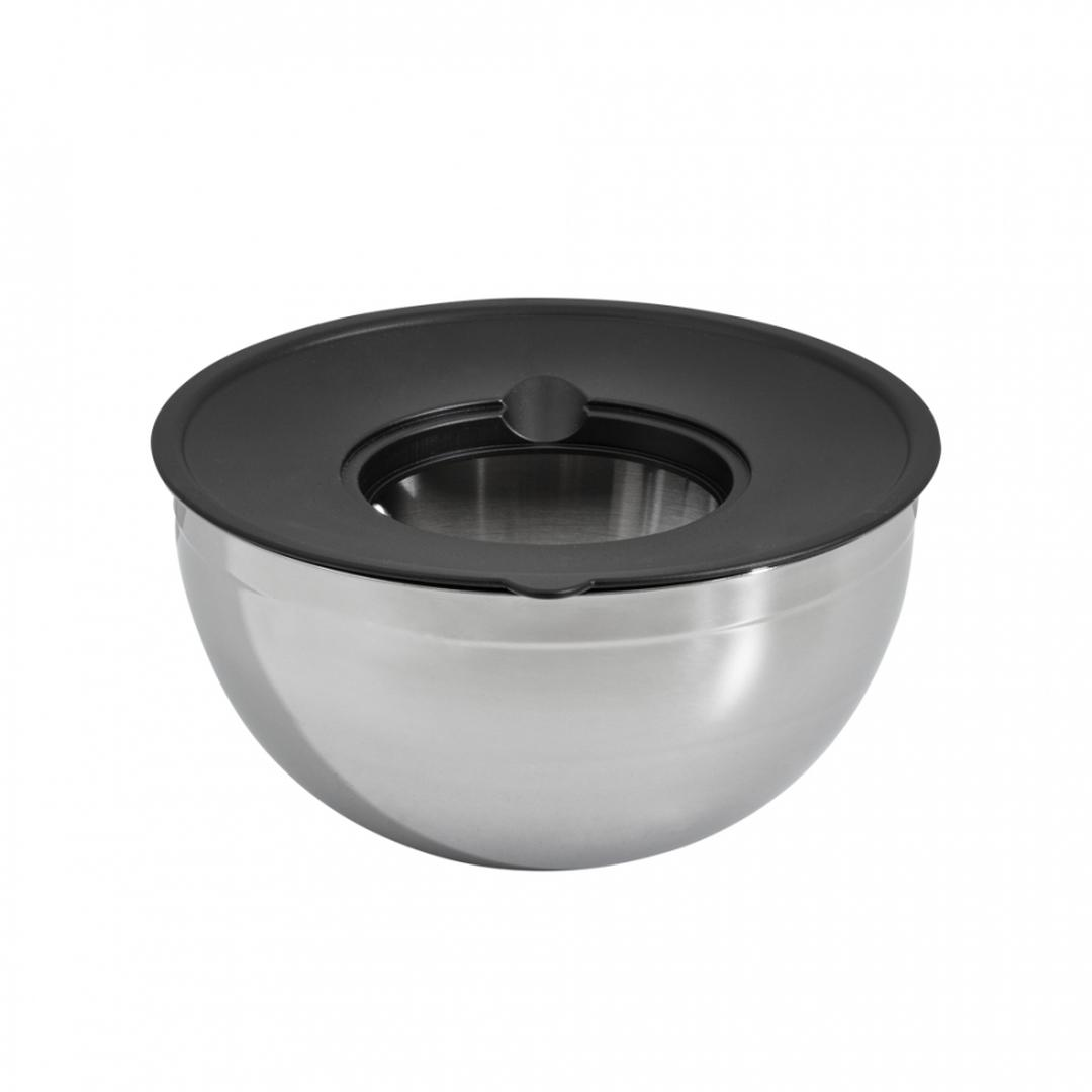 Jumbo Globe 9 Parça Siyah Rendeli Karıştırma Saklama Kabı Seti