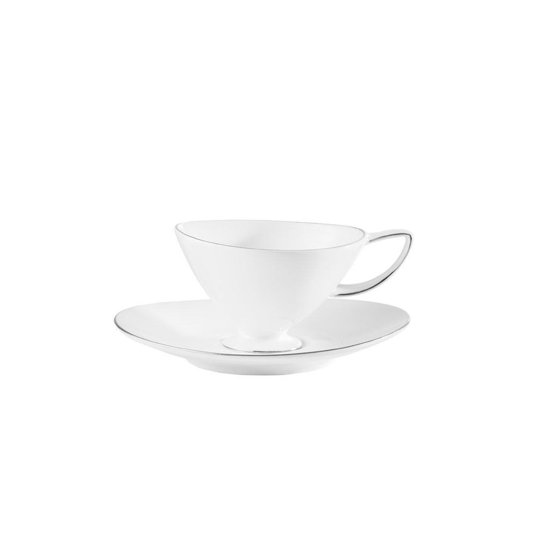 Jumbo Moon Platin 6 Kişilik 12 Parça Kahve Fincan Takımı