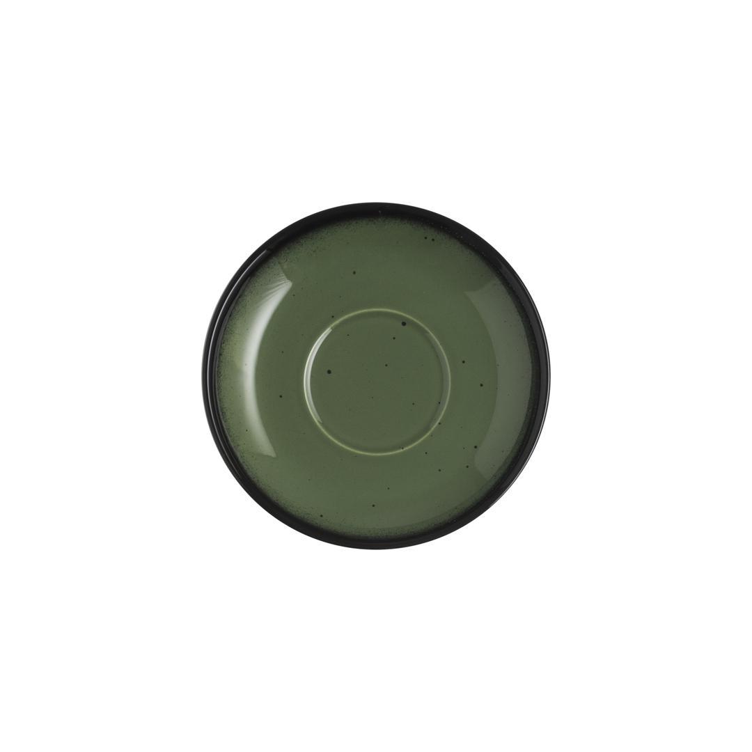 Jumbo Joy Green 15 cm Fincan Tabak
