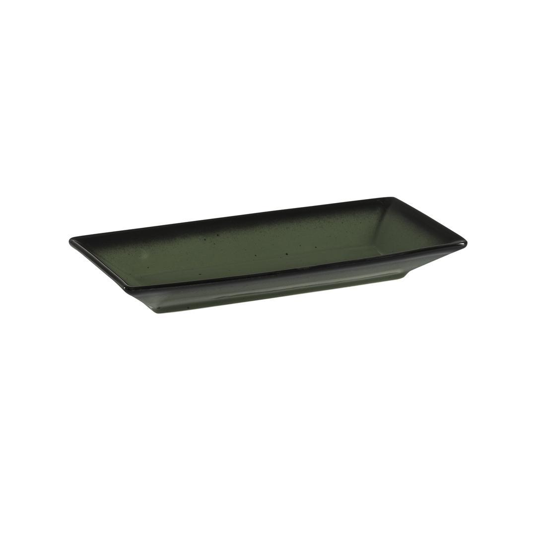Jumbo Joy Green 15 cm Minimal Kayık Meze Tabağı