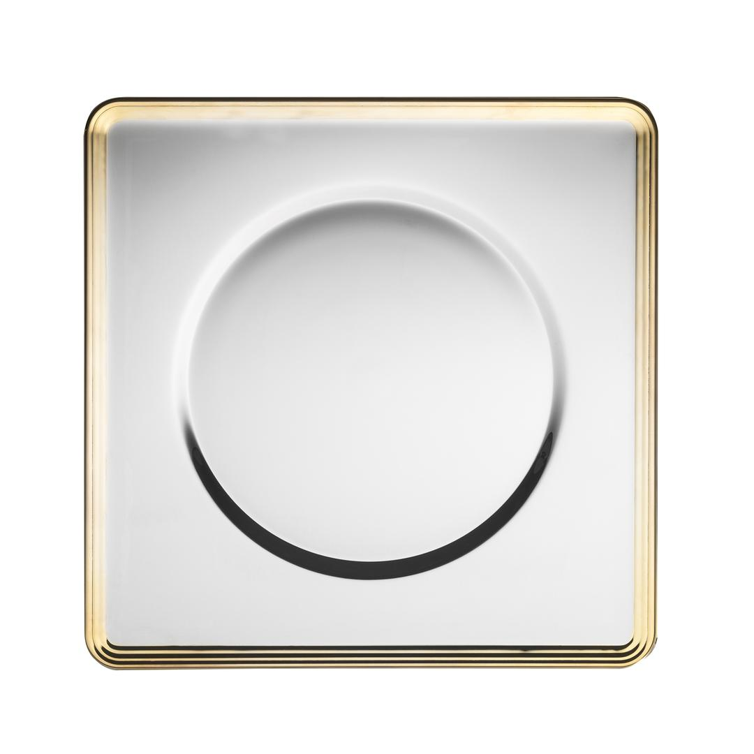 Jumbo Kontes Altın 31 cm Kare Supla