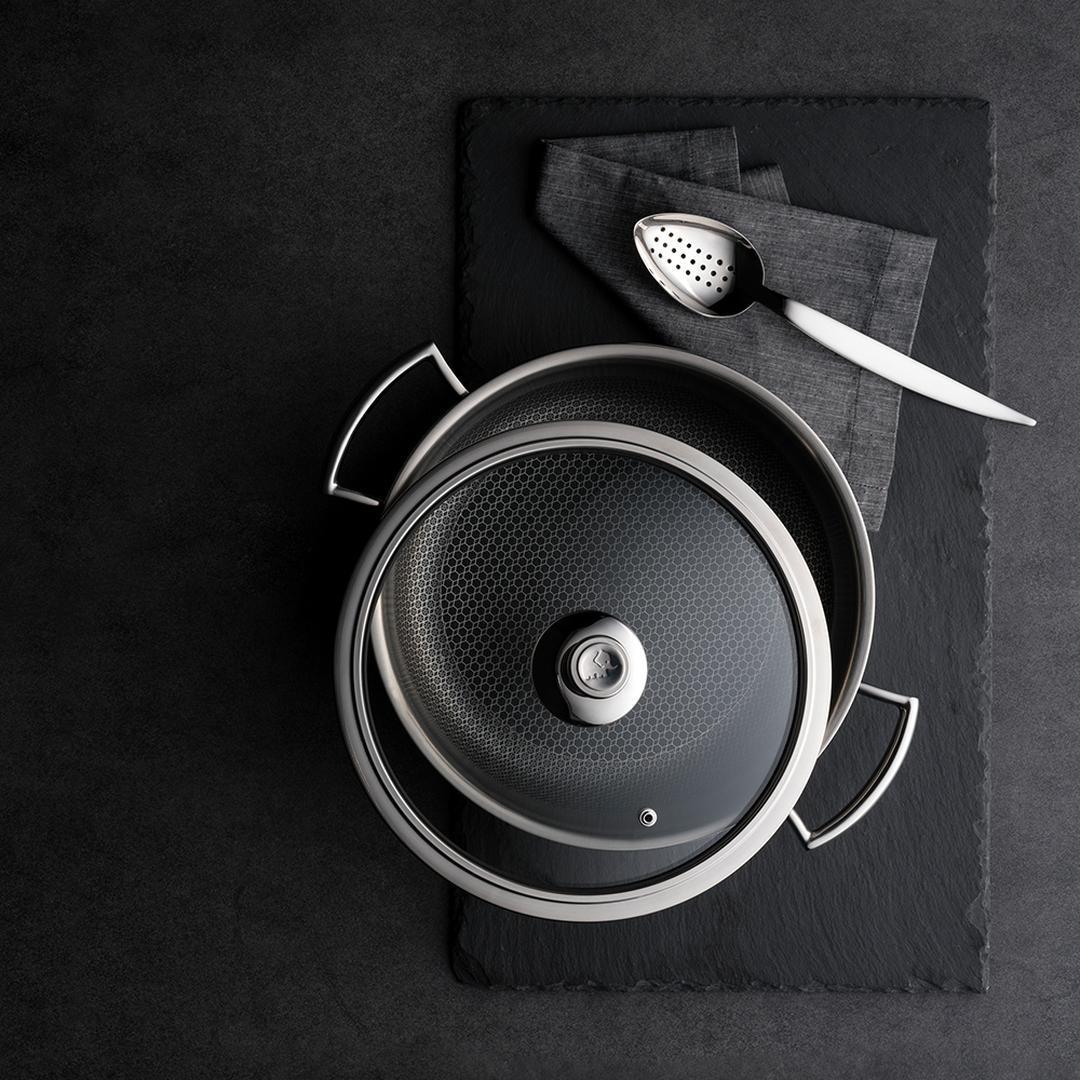 Jumbo Gourmet 24 cm Çelik Pilav Tenceresi