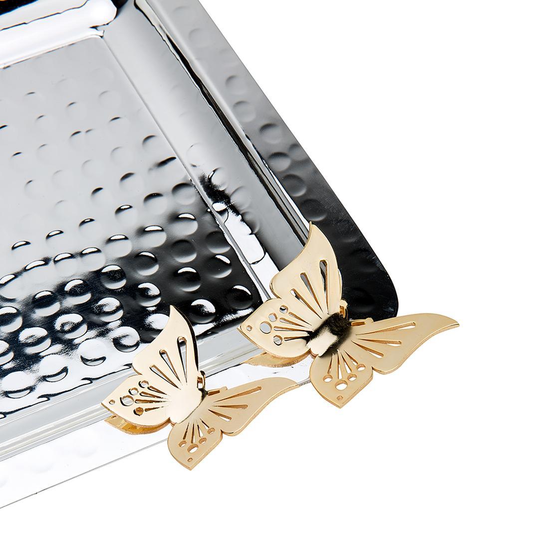 Jumbo Kelebek Model Dik Tepsi Küçük