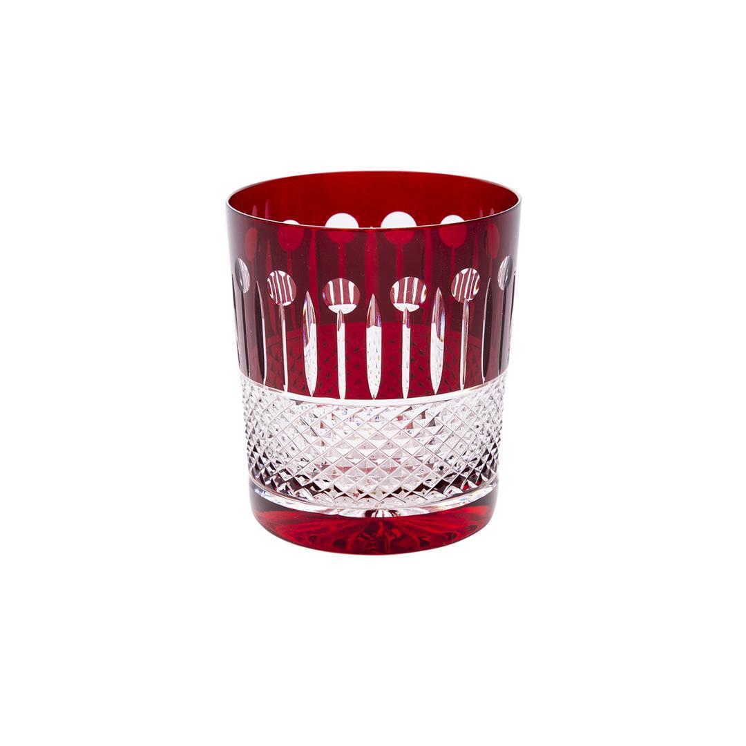 Jumbo Magda 6'lı Red Viski Bardağı Takımı