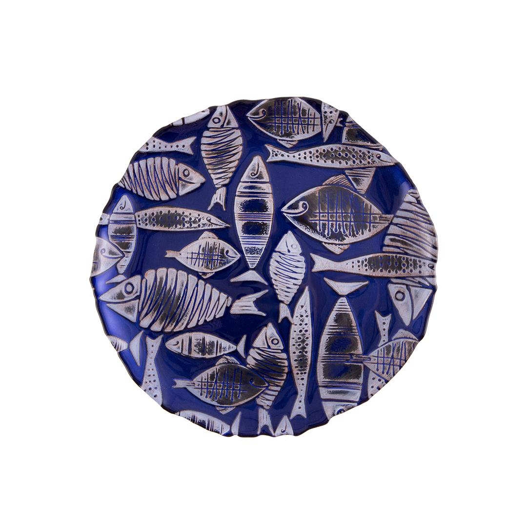 Jumbo Balık 21 cm Tabak