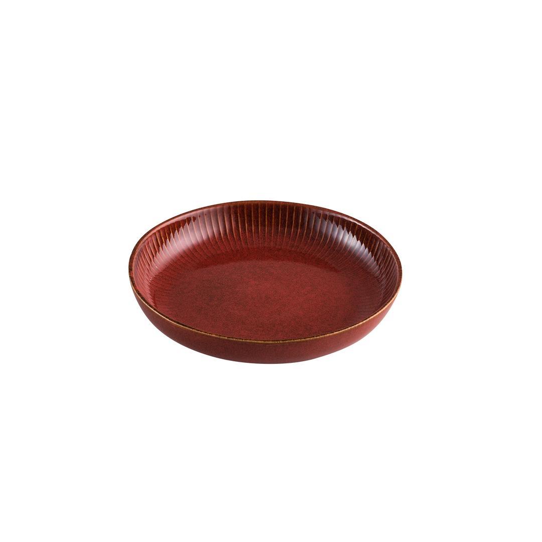 Jumbo Efes Red Çukur Tabak 22 cm