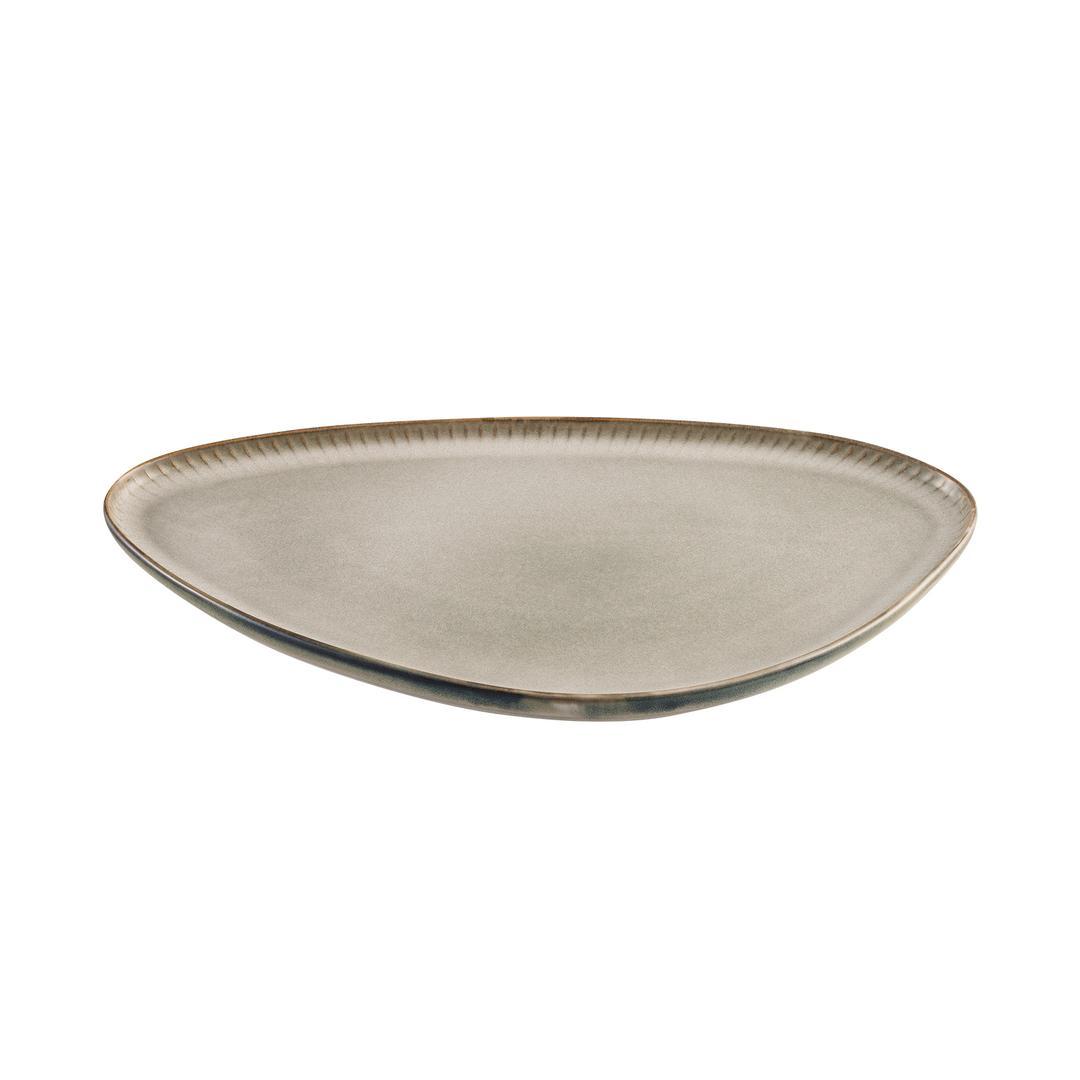 Jumbo Efes Grey 26 Cm Kayık Tabak