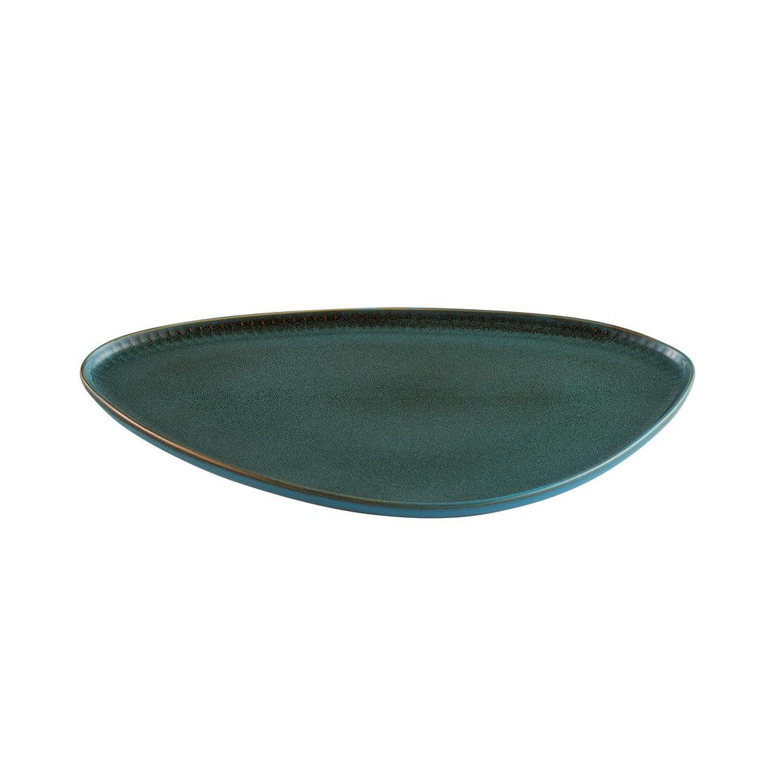 EFES Turkuaz 40 cm kayık tabak