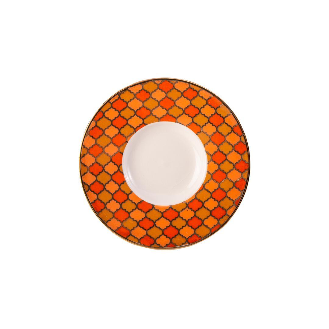 Jumbo Morocco Orange 6 Kişilik Çay Seti
