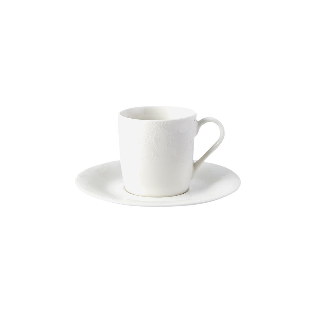 Jumbo Lily 6lı Kahve Fincan Seti