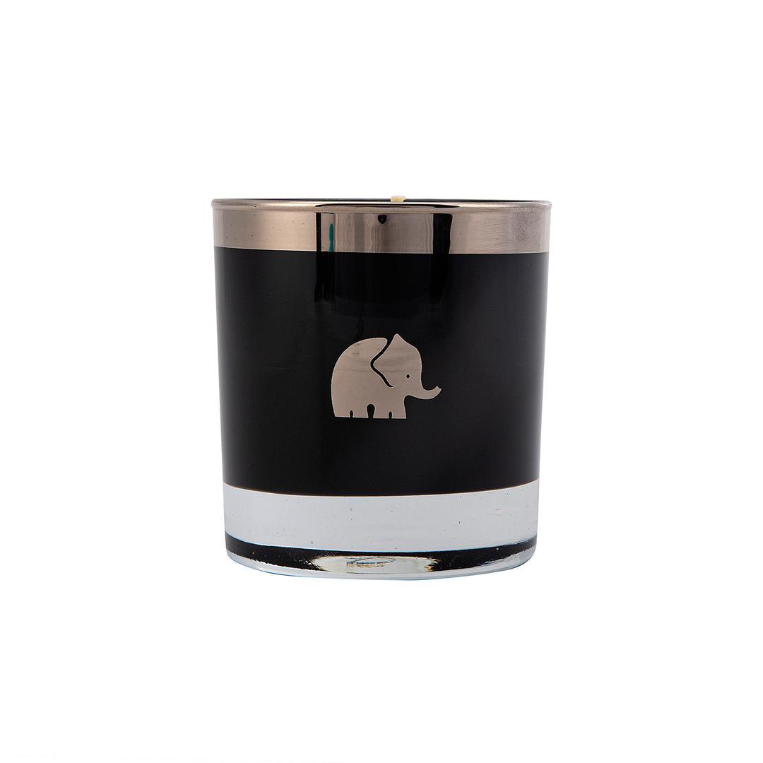Jumbo Luxury Candle Black Platin Mumluk