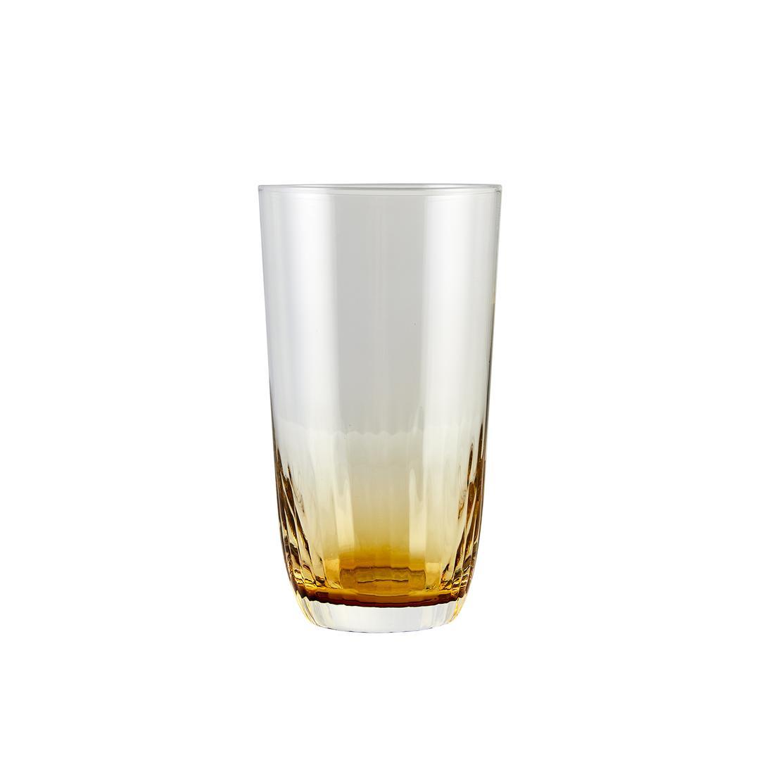 Jumbo Jewel 6'lı Amber Meşrubat Bardağı