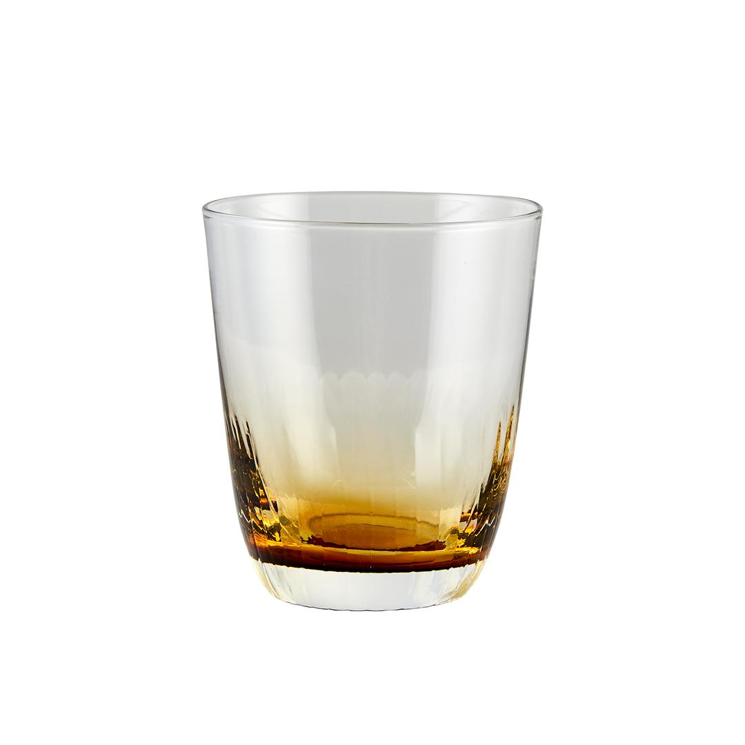 Jumbo Jewel 6'lı Amber Su Bardağı