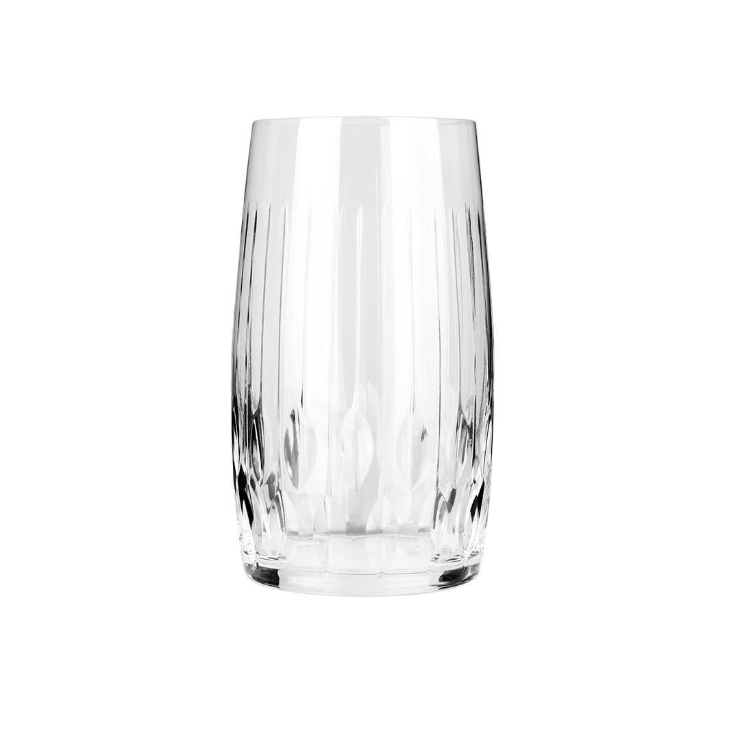 Jumbo Damla Kesme 6'lı Meşrubat Bardağı
