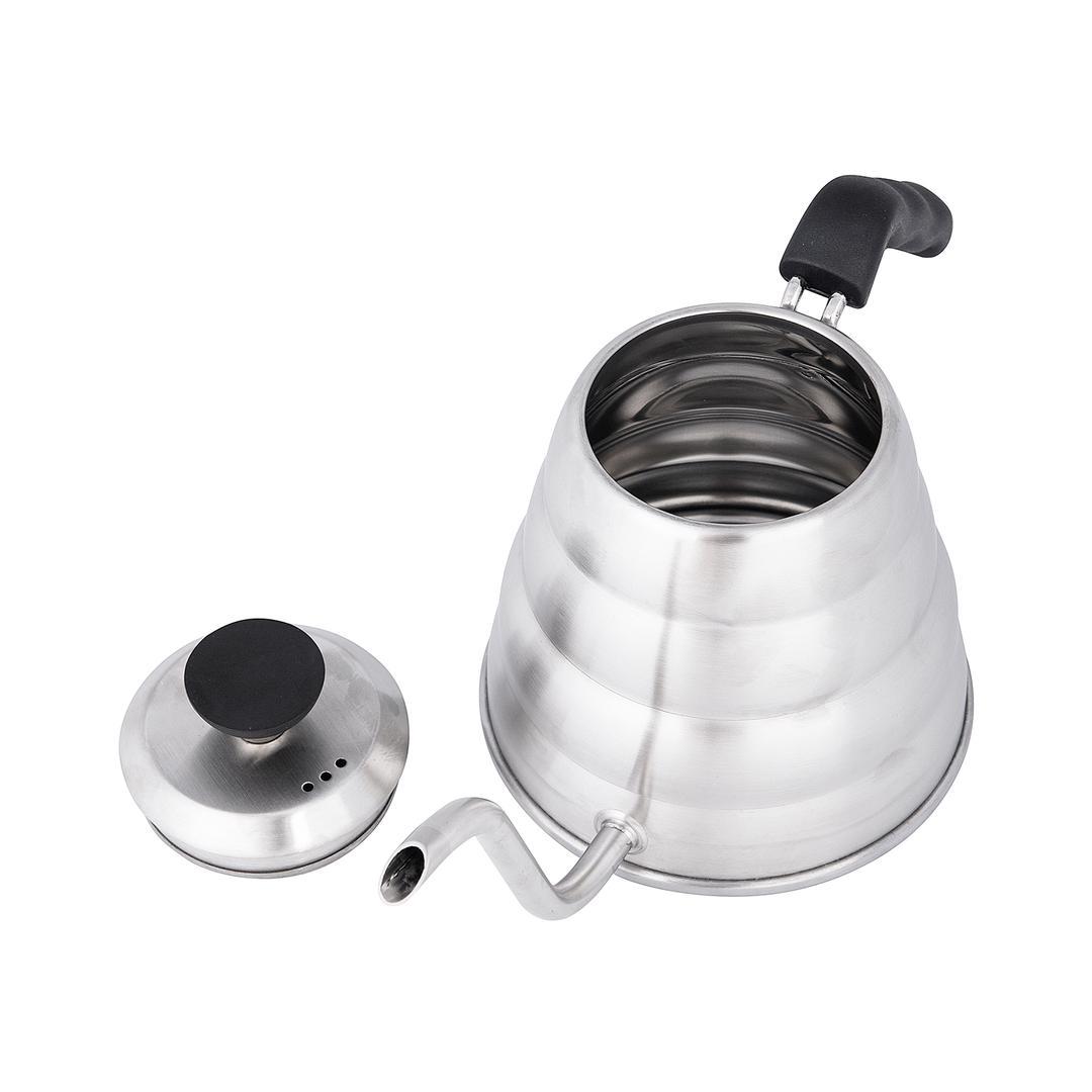 Jumbo Venti 1200 ml Çelik Coffee Kettle