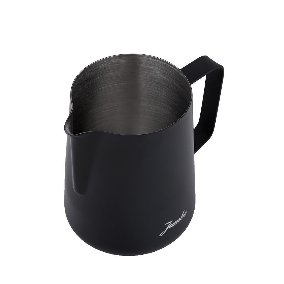 Jumbo Venti 600 ml  Çelik Siyah  Süt Potu