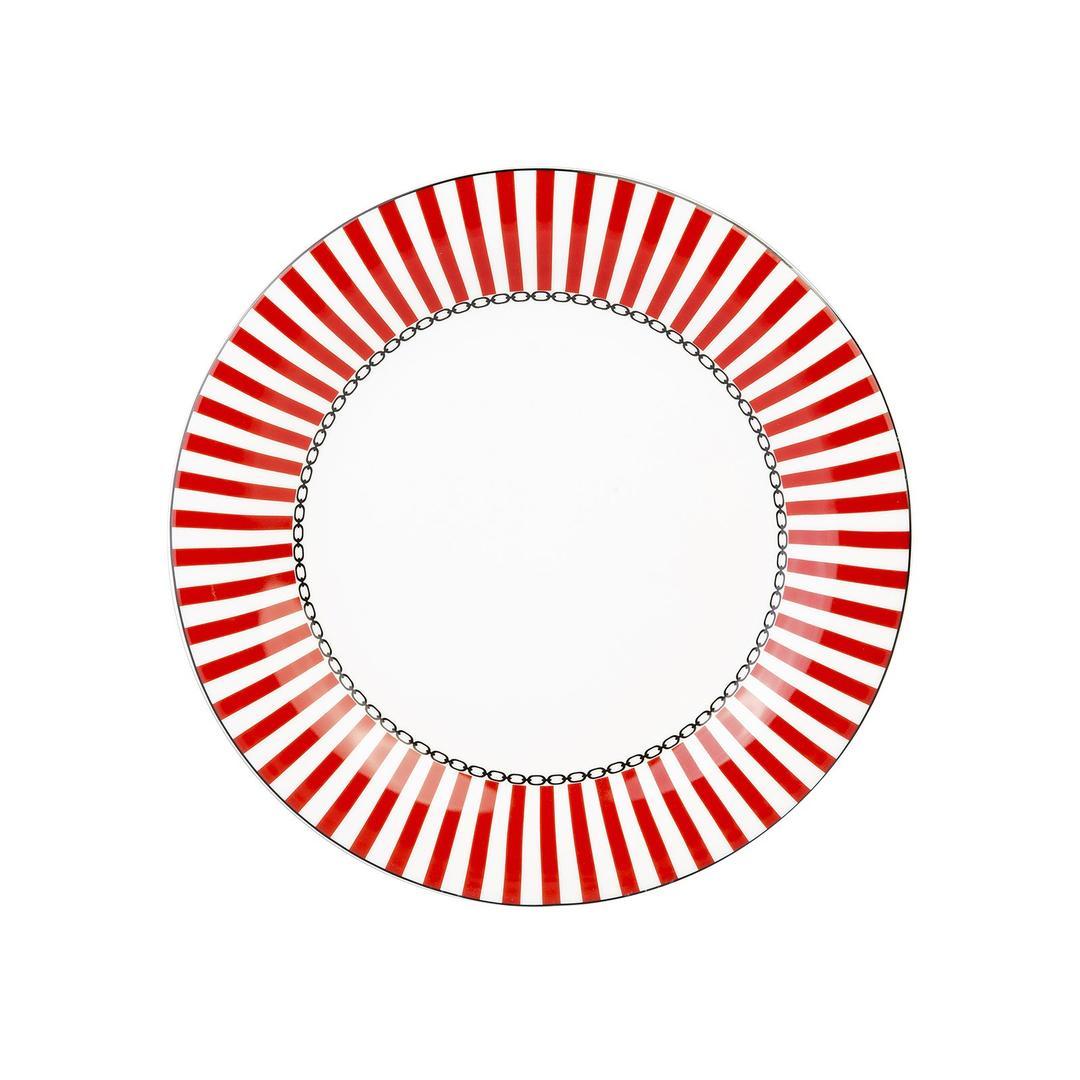 Jumbo Royal Red Colors 24 Parça 6 Kişilik Yemek Takımı