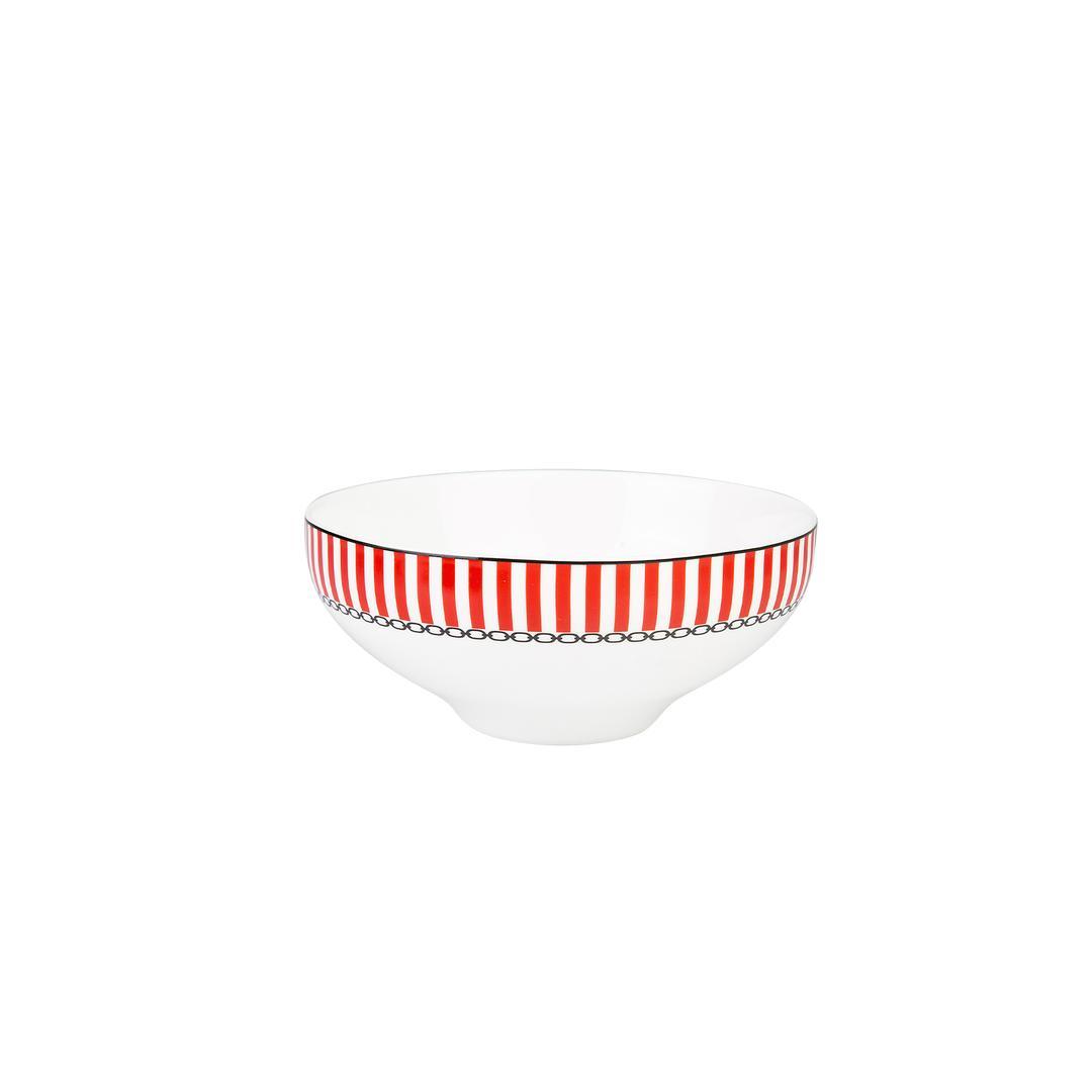 Jumbo Royal Red Colors 6 Kişilik 24 Parça Yemek Takımı