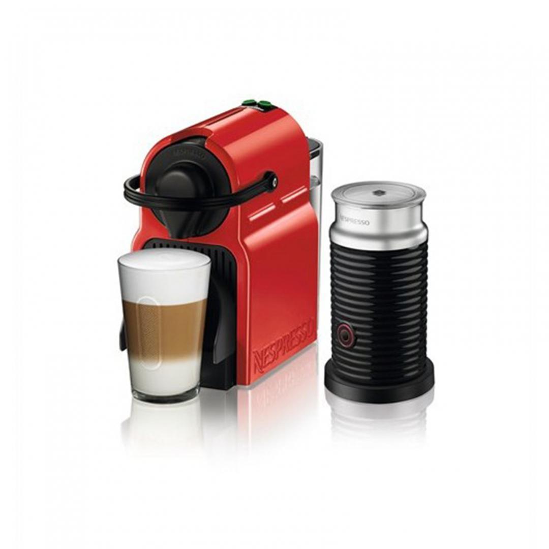 Nespresso Inissia Bundle C45 Red Aero3 Black Kahve Makinesi