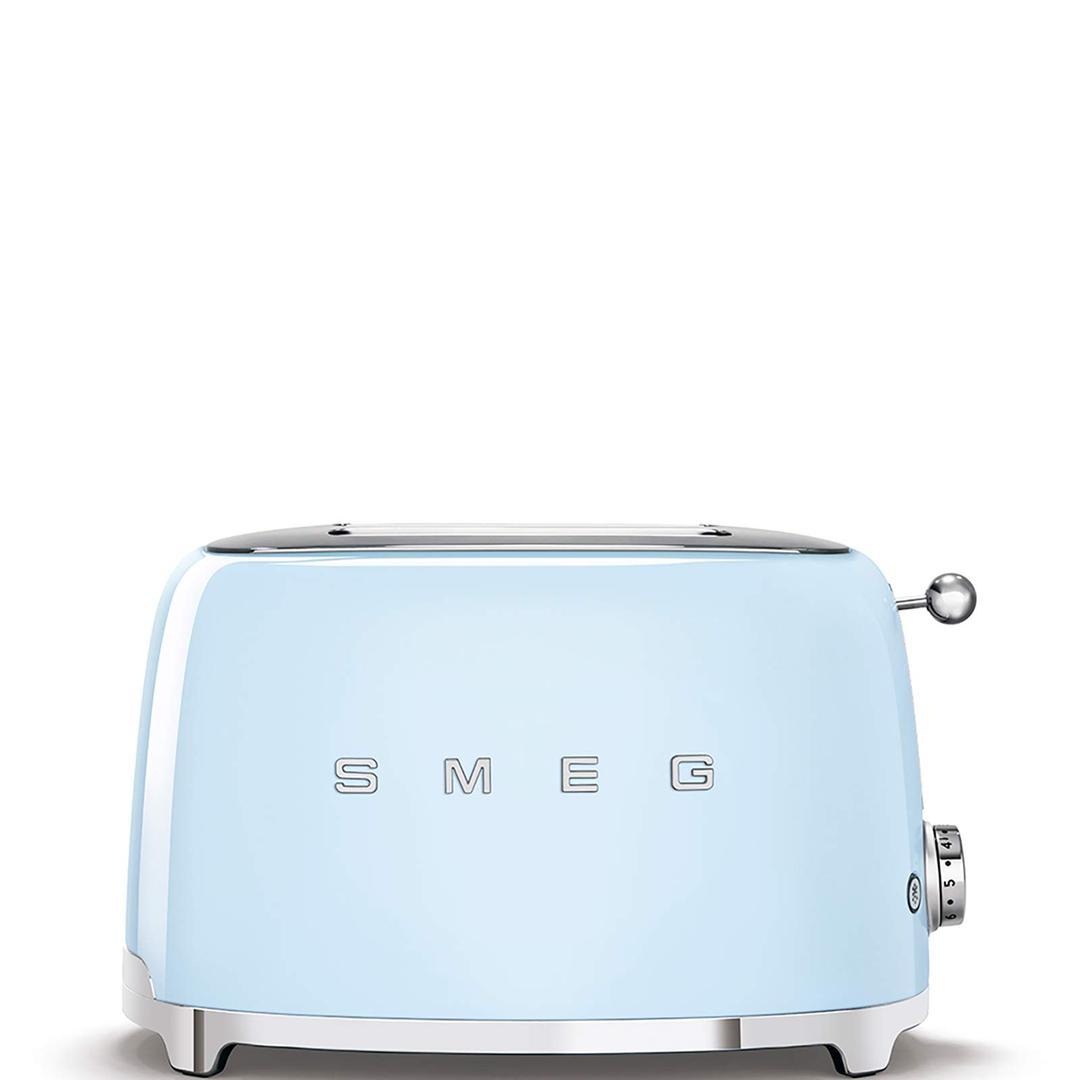 Smeg 2x2 Ekmek Kızartma Blue Tsf01pbeu