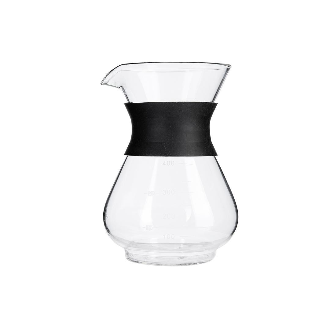 Jumbo Borasilikat 400 ml Cam Kahve Demleme Ekipmanı