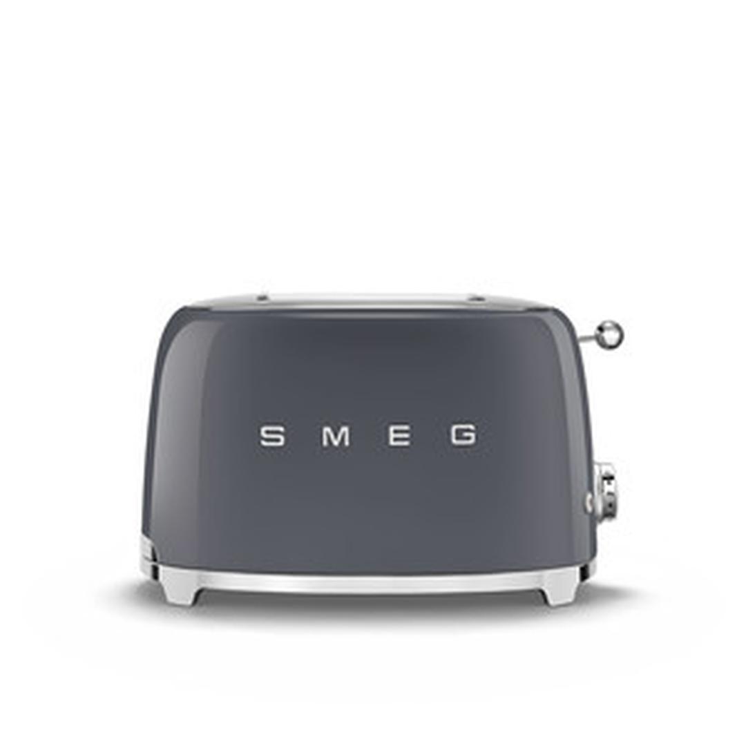 Smeg 2X2 Ekmek Kızartma Barut Grey TSF01GREU