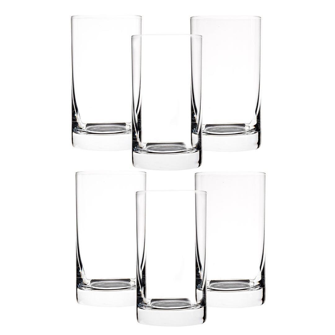 Jumbo Crystalex 230 ml 6'lı Barline Su Bardağı