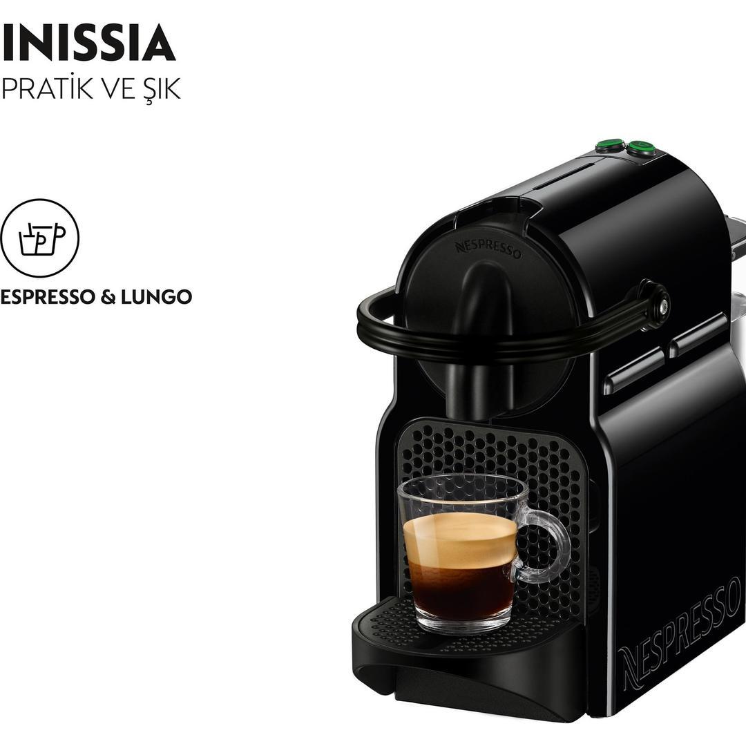 NESPRESSO INISSIA D40 BLACK
