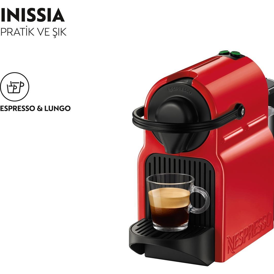 NESPRESSO INISSIA C40 RED
