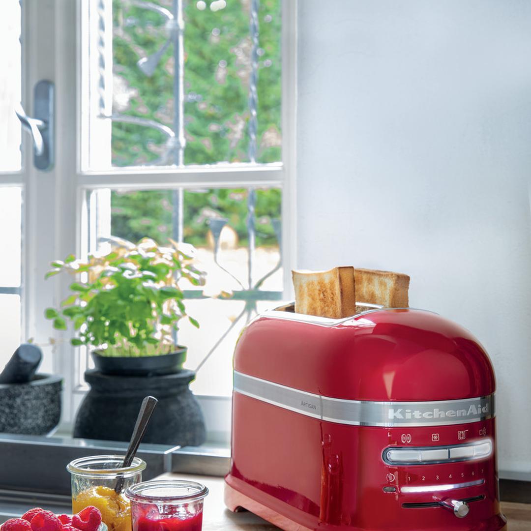 Kitchenaid Artisan Toaster 2-slice Empire Red-eer