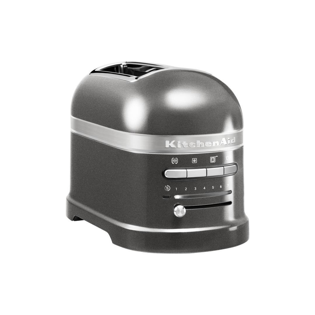 Kitchenaid 2 Dilim Ekmek Kızartma Makinesi 5KMT2204 Medallion Silver-EMS