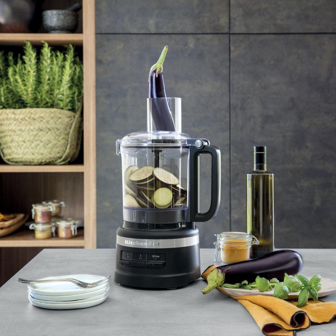 Kitchenaid 2,1 L Mutfak Robotu 5KFP0919 Black Matte-EBM